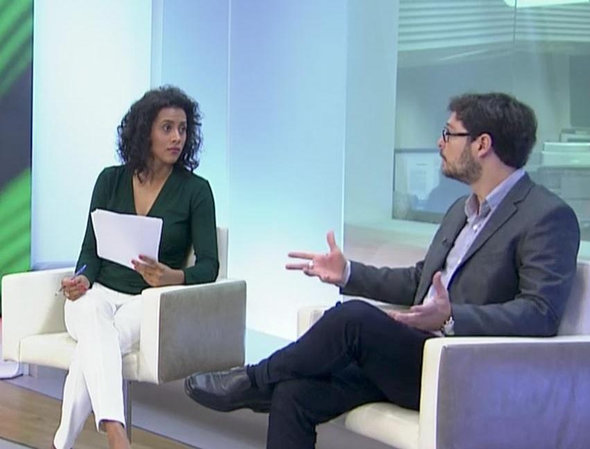 Entrevista à Globo News sobre ciberataques